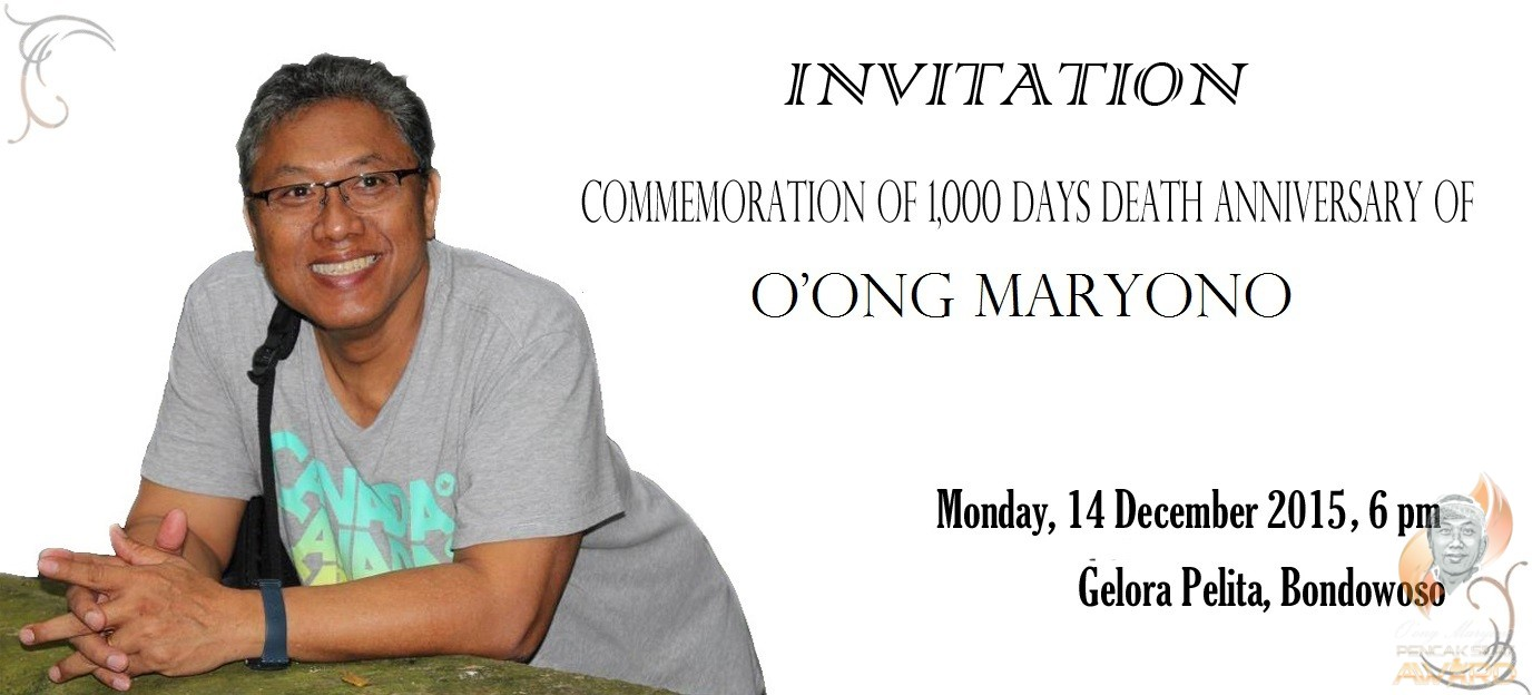 Commemoration of 1000 days death anniversary of master oong maryono commemoration of 1000 days death anniversary of master oong maryono stopboris Gallery