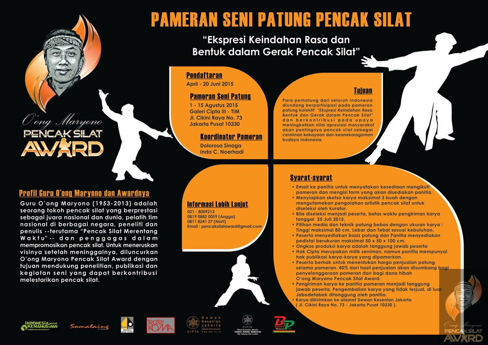 "Sculpture Exhibit ""Expressions and Forms in Pencak Silat Movements"""