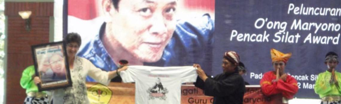 About O'ong Maryono Pencak Silat Award