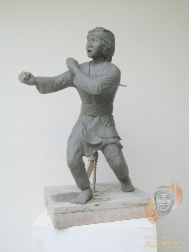 Pencak Silat Sculpture Exhibition Artwork
