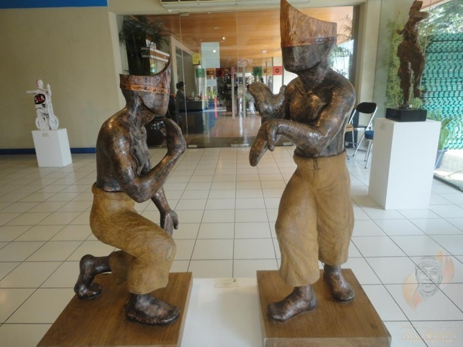 Pencak Silat Sculpture Artwork *For Sale*