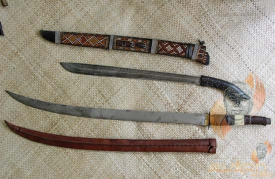 Golok and Sword