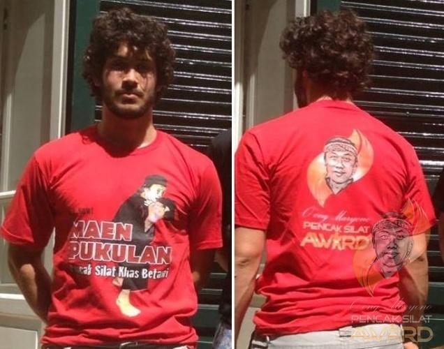 Kaos Maen Pukulan/ Maen Pukulan T-Shirt