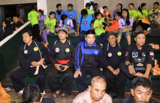 The audience from different Silat schools