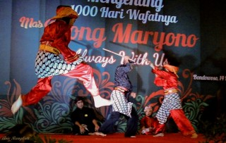 Silat performance from KPS Nusantara Muntilan