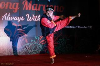 Silat expert of Tapak Suci, an autonomous martial art organization