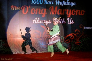 Performing Pencak Silat with the Belati, Knife