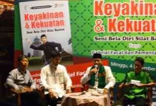 H. Embay Bercerita Tentang Budaya Banten