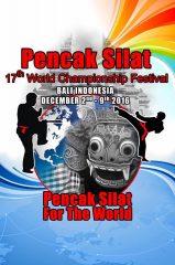 Salah Satu Poster Kejuaraan Dunia Silat ke 17 di Bali