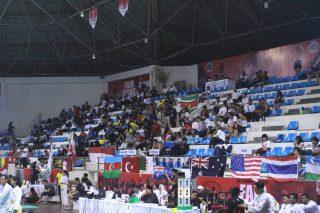 Suasana Tribune Penonton Kejuaraan