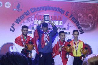 Salah Satu Juara Pencak Silat Dari Thailand