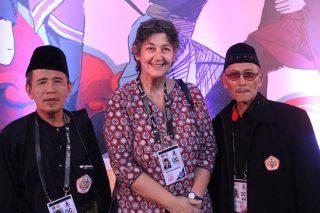 Lia Sciortino, Pendiri OMPSA Bersama Tamu Kehormatan