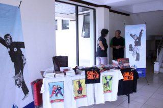 Stand Oong Maryono Pencak Silat Award (OMPSA) di Pintu Masuk Gelanggang