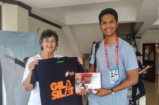 Jurnalis CNN Indonesia Bersama Lia Sciortino, Pendiri OMPSA