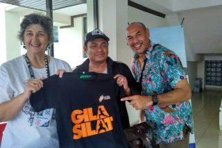 Jurnalis Kompas Berkunjung Ke Stand OMPSA