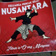 Stiker buat kenangan Guru O'ong Maryono
