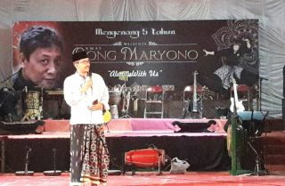 A friend of Master O'ong Maryono