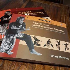 """The book """"Pencak Silat for the New Generation"""""""
