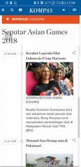 OMPSA news on the Kompas's social media