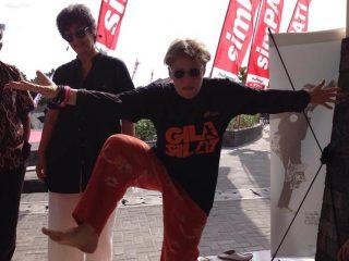 """Go crazy when wearing """"Gila Silat"""" t-shirt"""