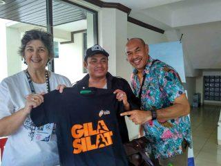 Jualan kaos di Pencak Silat World Championship, Bali 2016